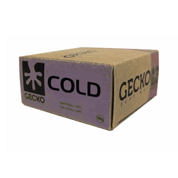 gecko surf wax cold