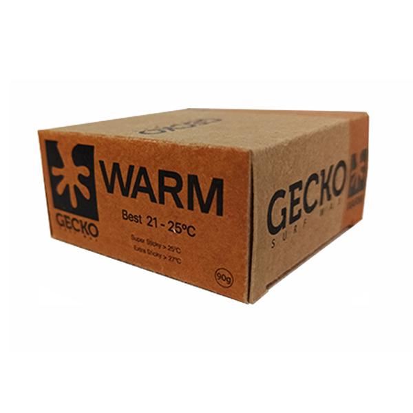 gecko surf wax warm